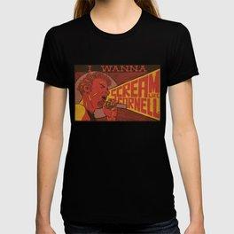 I Wanna Scream Like Cornell T-shirt