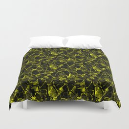 Abstract 31 camouflage Duvet Cover