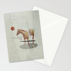 Take The Money and Run Stationery Cards