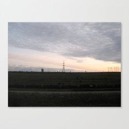 Townline Tracks Canvas Print