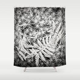 Moss and Ferns Shower Curtain