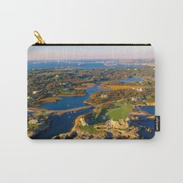 The Waves Mansion and Newport Bridge, Newport, Rhode Island Carry-All Pouch