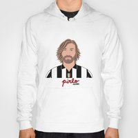 pirlo Hoodies featuring ANDREA PIRLO - JUVENTUS by THE CHAMPION'S LEAGUE'S CHAMPIONS