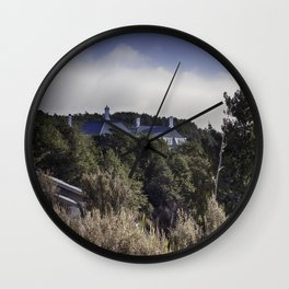 Chateaux Roof Wall Clock