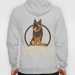 Animal Owners Dog Trainers Doggie Pets German Shepherd Achtung Gift Hoody