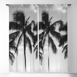 Hawaiian Palms II Blackout Curtain