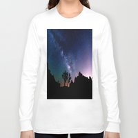 milky way Long Sleeve T-shirts featuring the milky way. by 2sweet4words Designs