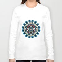 sacred geometry Long Sleeve T-shirts featuring Sacred Geometry by Angel Decuir