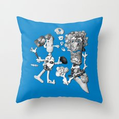 shell people Throw Pillow