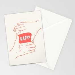 Focus on Happy Stationery Cards