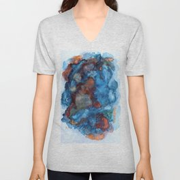 Blue Rain Unisex V-Neck