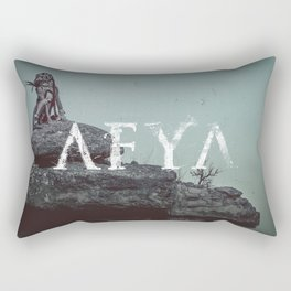 AFYA - deluxe print Rectangular Pillow