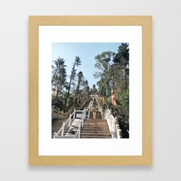 Big Buddha Hong Kong Framed Art Print