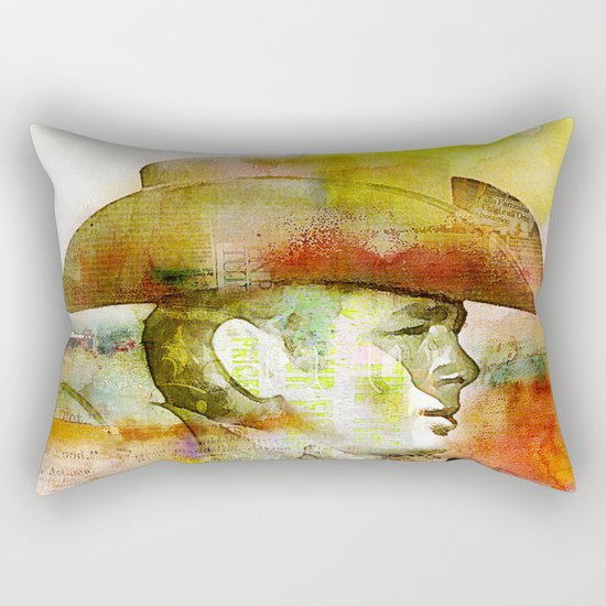 The journey of James D. Rectangular Pillow