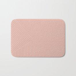 Lines (Blush Pink) Bath Mat