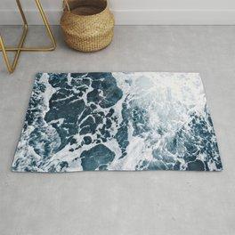 Marble ocean Rug