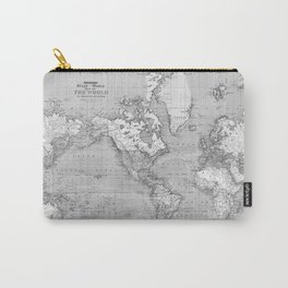 Atlas of the World Carry-All Pouch