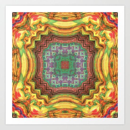 Variations on a Theme Art Print