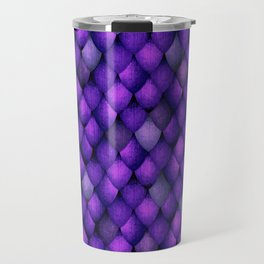 Purple Dragon Scales Travel Mug