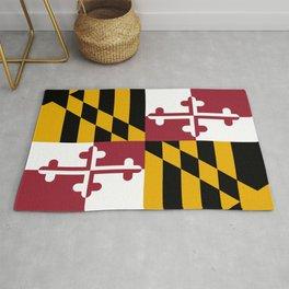 State flag of Flag Maryland Rug