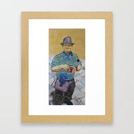 Rumpus Rudy Framed Art Print