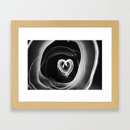 Ribbons of Light Framed Art Print