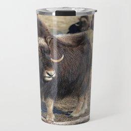 Arctic Muskox Travel Mug
