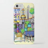 vienna iPhone & iPod Cases featuring Vienna  by Aleksandra Jevtovic