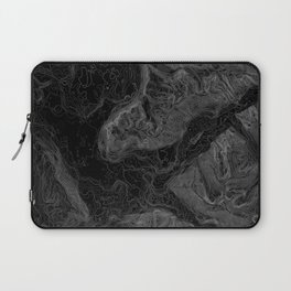 NORTH BEND WA TOPO MAP - DARK Laptop Sleeve