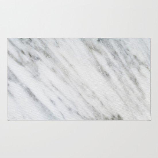 Chevron Marble Rug: Carrara Italian Marble Rug By Cafelab