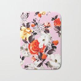 Photographic summer florals - D&G inspired - PINK Bath Mat