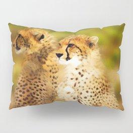 Pair of Cheetahs Pillow Sham