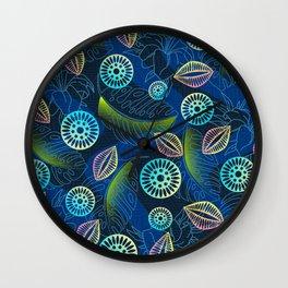 Tropical Fantasy Wall Clock