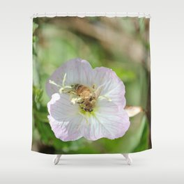 Bees and Buttercups Shower Curtain