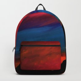 Fire Sky - Pyramids Silhouette Backpack
