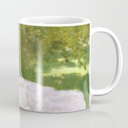 Springtime by Claude Monet Coffee Mug