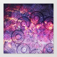 Space mandala 11 Canvas Print