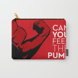 CAN YOU FEEL THE PUMP? FITNESS SLOGAN CROSSFIT MUSCLE Carry-All Pouch