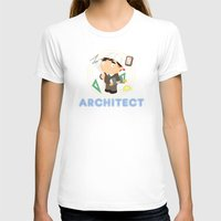 architect T-shirts featuring Architect by Alapapaju