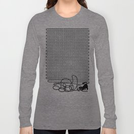 Unravel (in Blue) Long Sleeve T-shirt