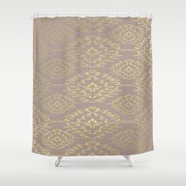 Golden Decoration Shower Curtain
