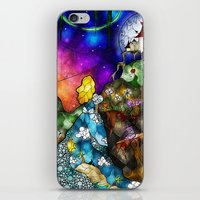 mandie manzano iPhone & iPod Skins featuring Wonderland (Once Upon A Time Series) by Mandie Manzano