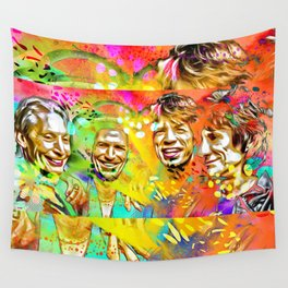 The Stones Pop Art Painting Wall Tapestry