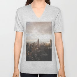 Empire State of Mind Unisex V-Neck