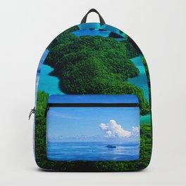 Palau Islands' Tropical Paradise Backpack