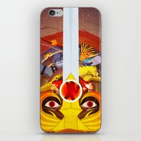 thundercats iPhone & iPod Skins featuring HO by modHero