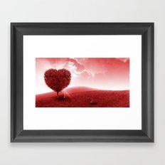 Feel the Love Framed Art Print