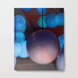 Leica_Ball Metal Print