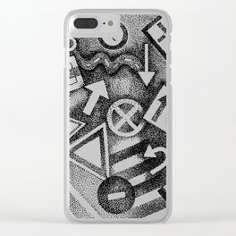 street signs Clear iPhone Case