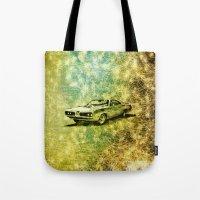 car Tote Bags featuring car by Creative Safari